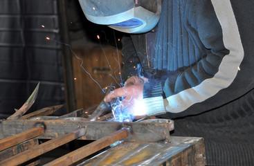 ferronnier métallerie d'art forgeron