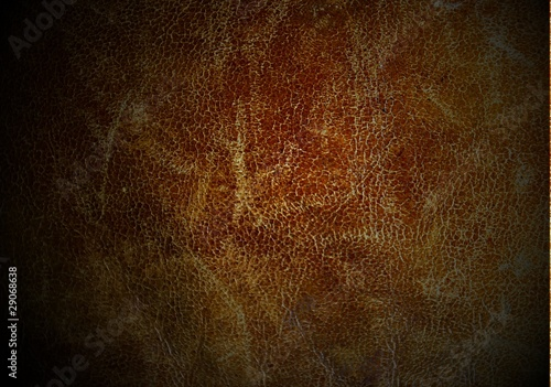 Staande foto Leder Texture of old used leather