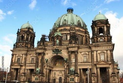 Berliner Dom, landmark cathedral in Berlin, Germany