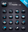 Black Squares - web icons 03