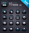 Black Squares - web icons 02
