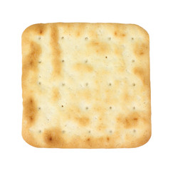 Single Hard Cracker Overhead View