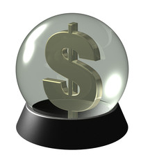 The future of the dollar in a crystal ball