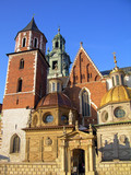 Wawel Cathedral in Krakow, Poland poster