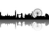 Fototapety London Silhouette