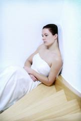 Traurige Braut