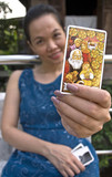 the woman fortuneteller tarot card