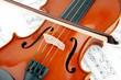 Geige Rumpf mit Bogen