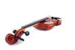 Violine vor weißem Hintergrund