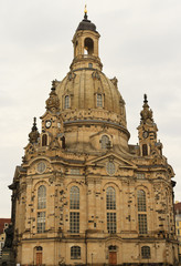 Frauenkirche church in Dresden, Germany