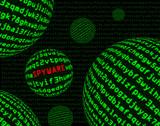 Spyware among spheres of machine code poster