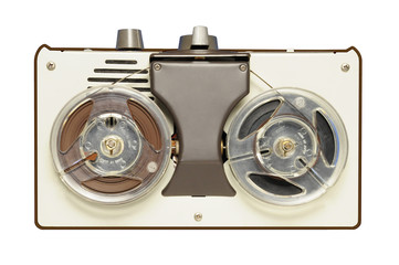 Vintage reel-to-reel tape recorder circa 1967
