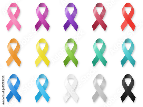 Awareness Ribbons - 29089658