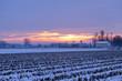 alba invernale paesaggio 1456