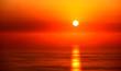 Fototapete Landschaft - Ozean - Sonnenauf- / untergang