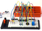 DIY electronics on breadboard (raster)