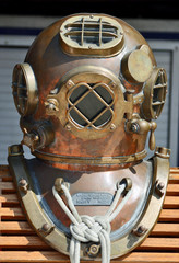 U.S. Navy Deep Sea Diving Helmet