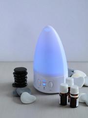 aromathérapie, diffuseur d'huiles essentielles
