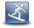 "3D Effect Icon ""Snowboarding"""