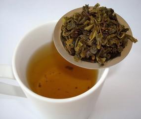 Green tea cup