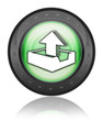"Green Industrial Style Icon ""Upload"""
