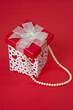 Heart Gift Box with Pearls