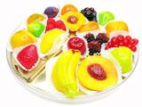 marmalade gelatin fruits poster