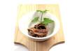 Acciughe su tagliere - Anchovies on chopping board