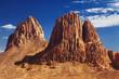 Rocks in Sahara Desert, Hoggar mountains, Algeria