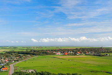 Landscape From Dutch wadden island
