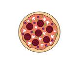 karikatúra pizza