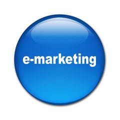 Boton brillante texto e-marketing