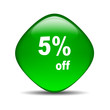 Rombo brillante 5% off
