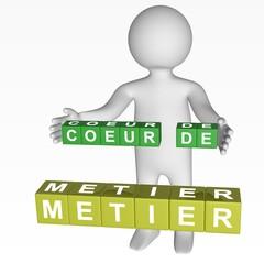 Cubes - 322 - COEUR DE METIER