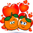 Oranges in love - Arance innamorate