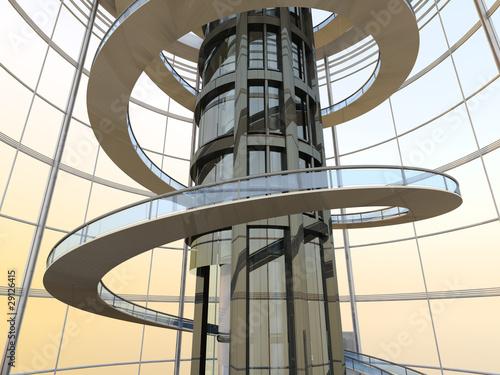 Futuristische architektur von spectral design lizenzfreies foto 29126415 auf - Futuristische architektur ...
