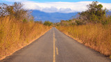 Country Road in Costa Rica poster