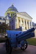 Cannon in front of State Capitol Building in Jackson