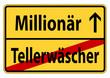 Vom Tellerwäscher zum Millionär