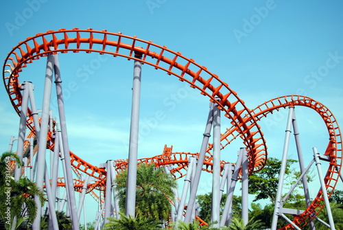 Air Train at Siam Park