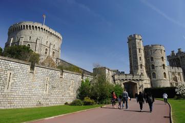 Windsor Castle on Blue Sky Day, UK