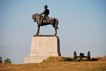 Denkmal in Gettysburg, Pennsylvania - USA