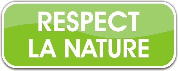 bouton respecte la nature