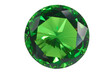 emerald isolated