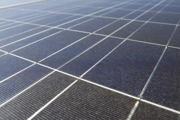 Close up solar panels