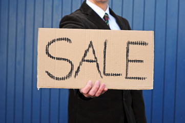 "Pappschild ""Sale"" 2"