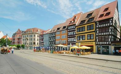 Thüringen, Erfurt, Domplatz,