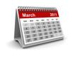Calendar 2011 - March