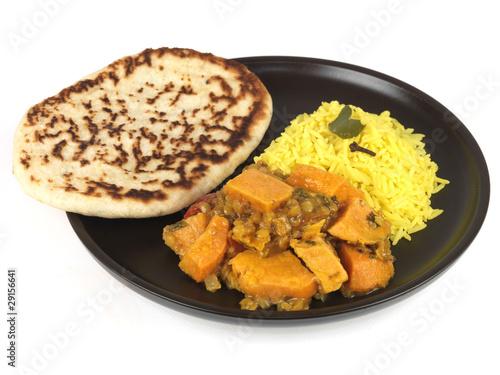 Sweet Potato Dhansak