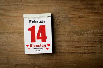 14 Februar 2012